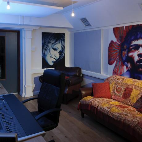 Control Room Sofa